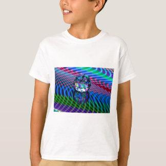 Camiseta Cor das facetas no vidro