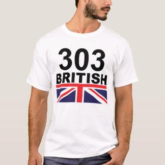 Camiseta Cor de 303 Ingleses