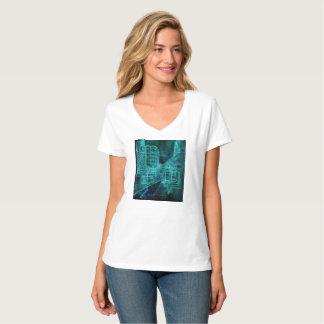 Camiseta Cor de água do dia e da noite