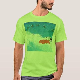 Camiseta cor de água do organik