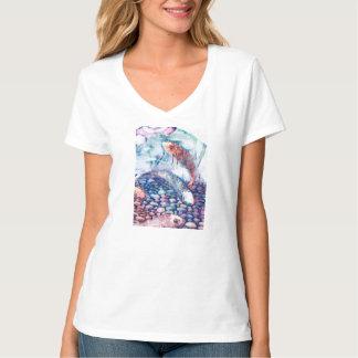 Camiseta Cor de água Koi