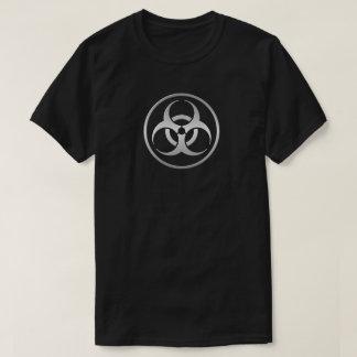 Camiseta Cor de prata tóxica do Biohazard