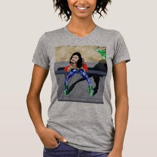 Camiseta Cor do cubo do bonde