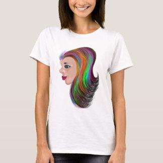 Camiseta Cor do salão de beleza