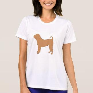 Camiseta cor shar chinesa do silo