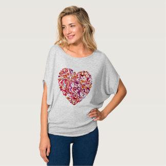 Camiseta Coração abstrato 101