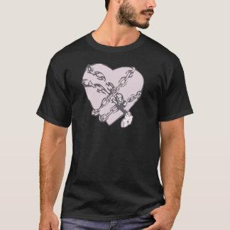 Camiseta Coração acorrentado
