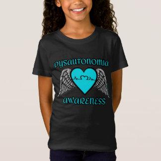 Camiseta Coração/asas… Dysautonomia