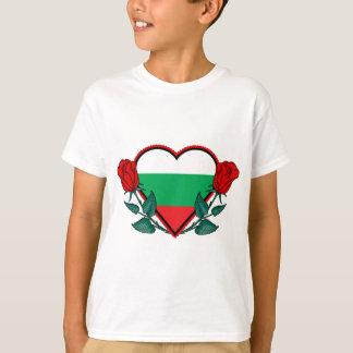 Camiseta Coração Bulgária