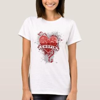 Camiseta Coração Chopin