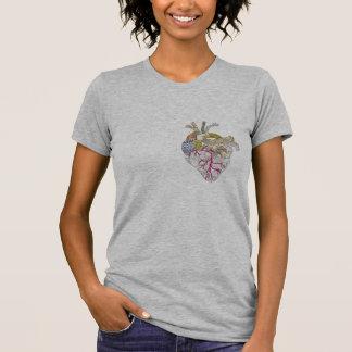 Camiseta Coração criativo