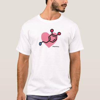 Camiseta Coração da dopamina - um símbolo moderno do amor