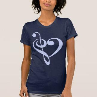 Camiseta Coração da música