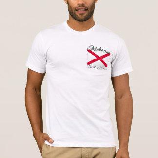 Camiseta Coração de Alabama do t-shirt de Dixie