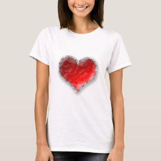 Camiseta Coração de cristal