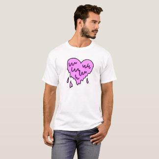 Camiseta Coração de derretimento