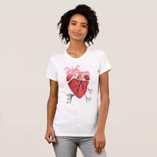 Camiseta Coração de florescência