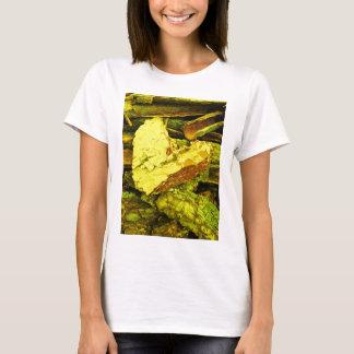 Camiseta coração de ouro