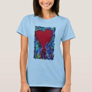 Camiseta coração de sangramento II