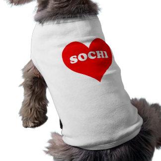 Camiseta Coração de Sochi