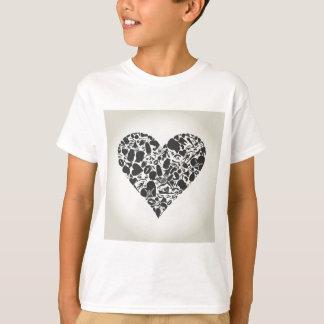 Camiseta Coração de uma parte de um corpo