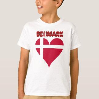 Camiseta Coração dinamarquês