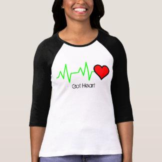 Camiseta Coração do Cardiogram de EKG