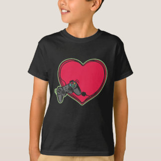 Camiseta Coração do controlador