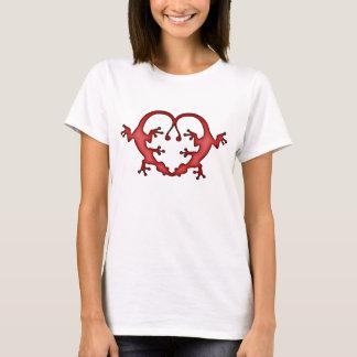 Camiseta Coração do geco