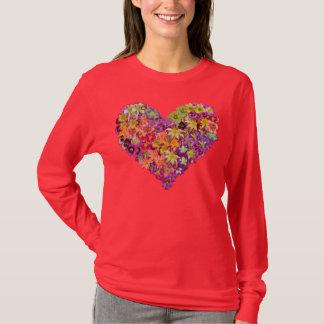 Camiseta Coração do hemerocallis
