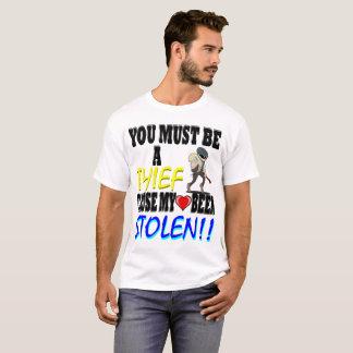 Camiseta Coração do ladrão roubado