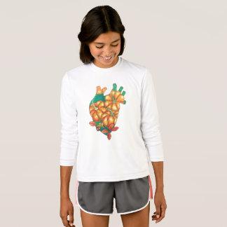 Camiseta coração do outono