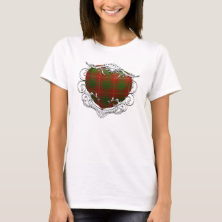 Camiseta Coração do Tartan de Bruce