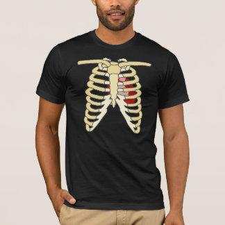 Camiseta Coração e reforços