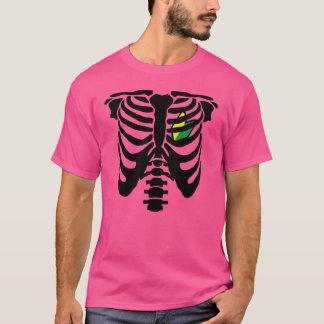 Camiseta Coração e reforços de JDM