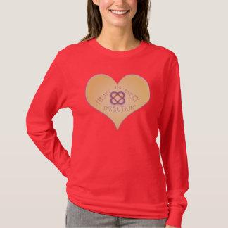 Camiseta Coração em cada Sentido-Poder de Goodnes infinito