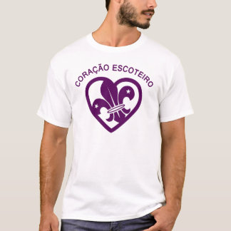Camiseta Coração Escoteiro - Básica