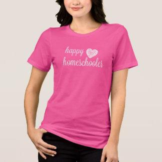 Camiseta Coração feliz de Homeschooler