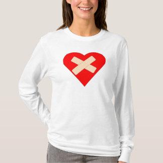 Camiseta Coração fixo
