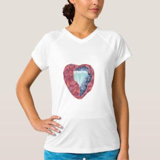 Camiseta Coração geométrico