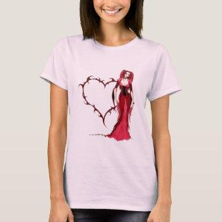 Camiseta Coração gótico