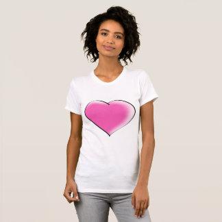 Camiseta Coração grande do amor
