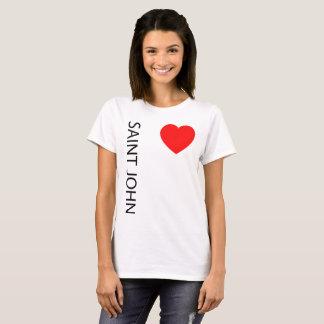 Camiseta Coração grande St John