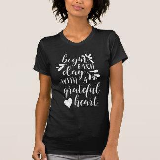 Camiseta Coração grato