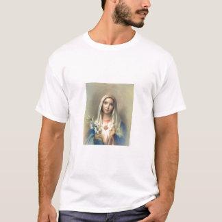 Camiseta Coração imaculado de Mary