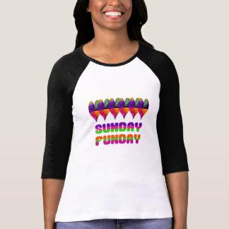 Camiseta Coração jamaicano domingo Funday