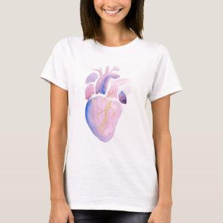 Camiseta Coração muito violeta