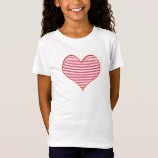 Camiseta Coração na parte dianteira