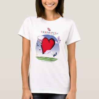 Camiseta Coração principal de Vermont, fernandes tony