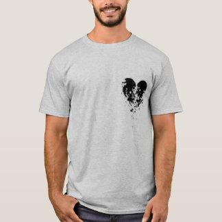 Camiseta Coração quebrado - asas do anjo